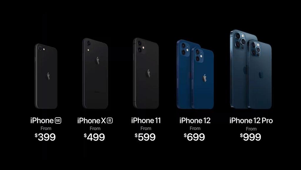iPhone 12 Pro va 12 Pro Max: Dep,  gia khoi diem 999 USD. anh 12