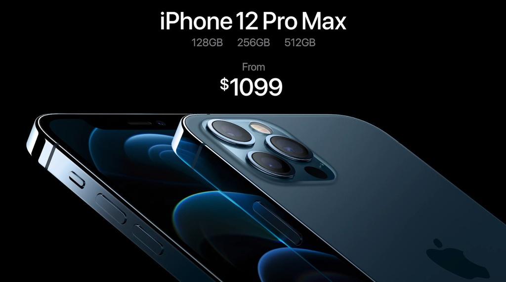 iPhone 12 Pro va 12 Pro Max: Dep,  gia khoi diem 999 USD. anh 11