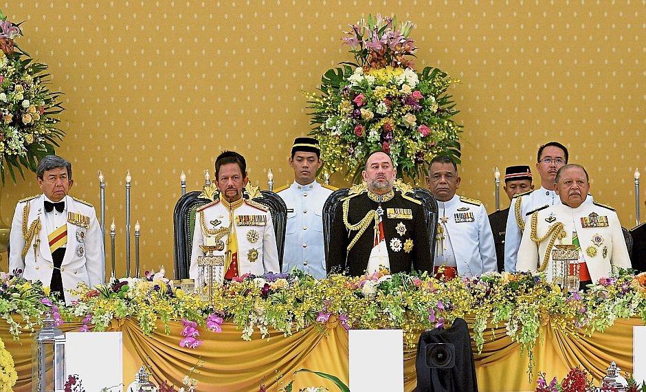 Quoc vuong tre nhat Malaysia dang quang o hoang cung trang le hinh anh 4