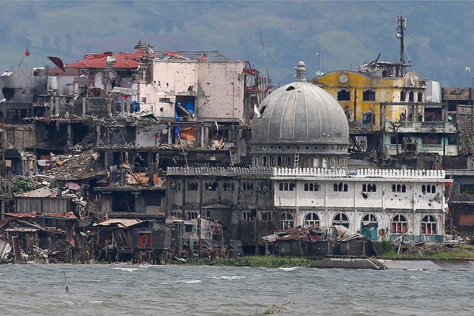 giai phong Marawi anh 1