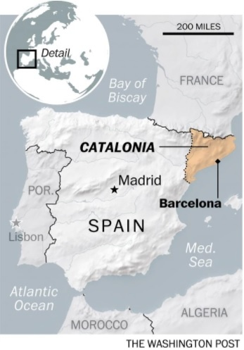Catalonia lung lay truoc quyet tam lap lai trat tu cua Madrid hinh anh 2