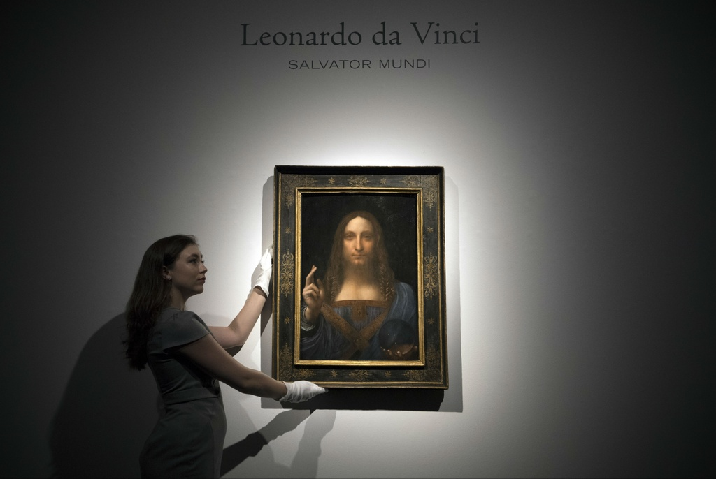 19 phut dau gia nghet tho kiet tac 'Dang Cuu the' cua Da Vinci hinh anh 2