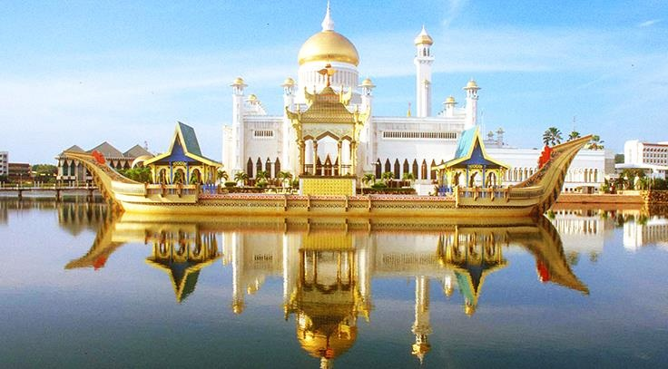 Cuoc song xa hoa dat vang cua quoc vuong Brunei thu nhap 100 USD/giay hinh anh 1