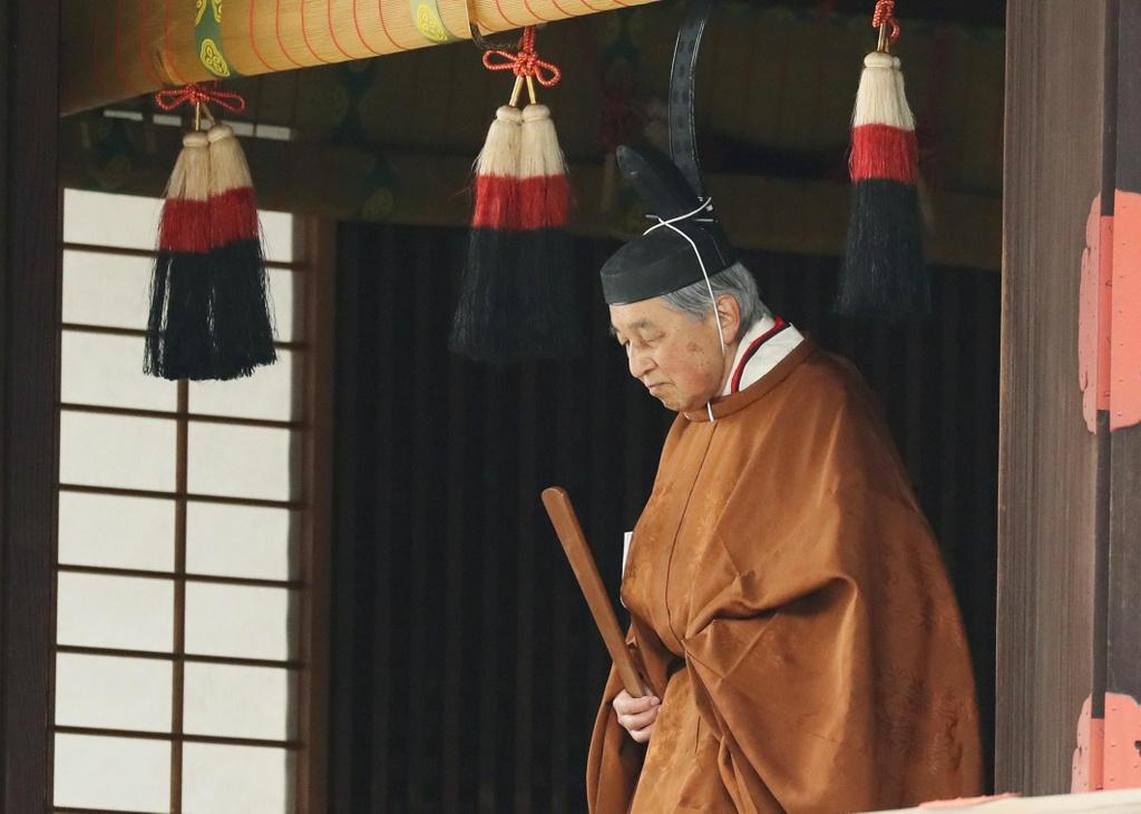 Nhat hoang Akihito thoai vi, Nhat Ban khep lai trieu dai Binh Thanh hinh anh 2