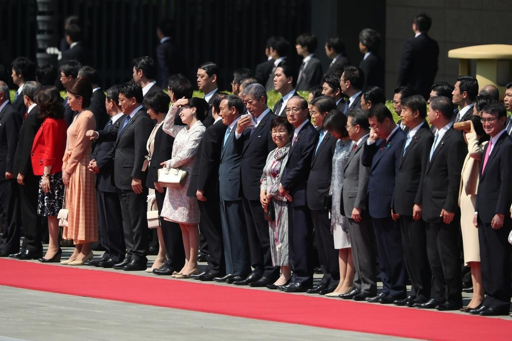 Tong thong Trump hoi kien Nhat hoang Naruhito tai Hoang cung hinh anh 11