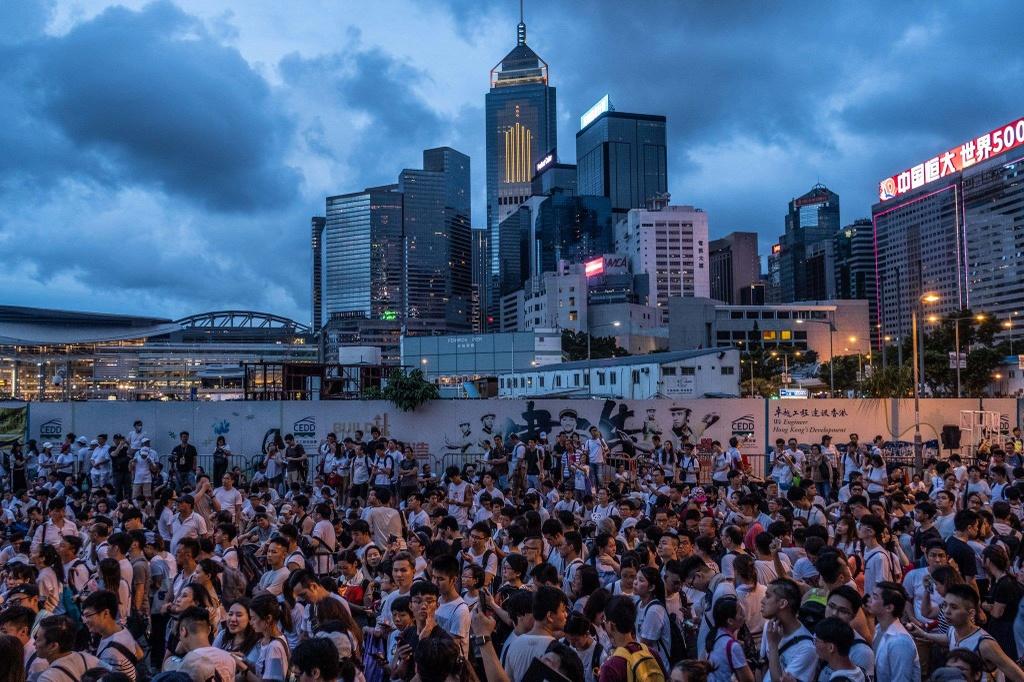 bieu tinh o Hong Kong anh 5