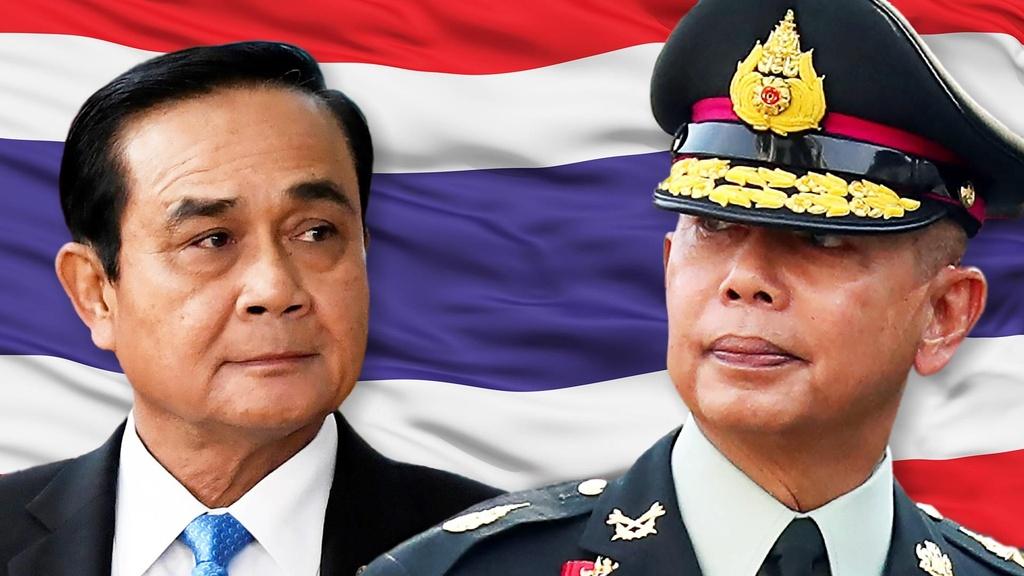 Quan doi Thai Lan lap lai trat tu duoi thoi tan vuong Vajiralongkorn hinh anh 1
