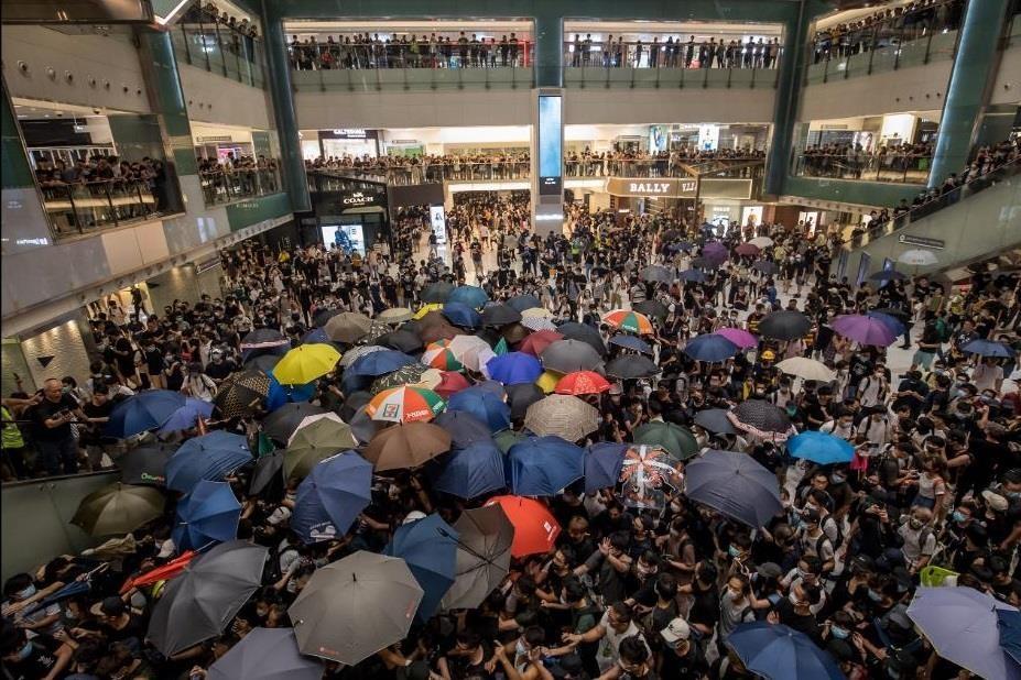 bieu tinh o Hong Kong anh 7