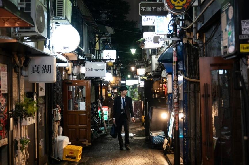 Dem o nhung con hem chat hep cua quan Shinjuku cua Tokyo hinh anh 1