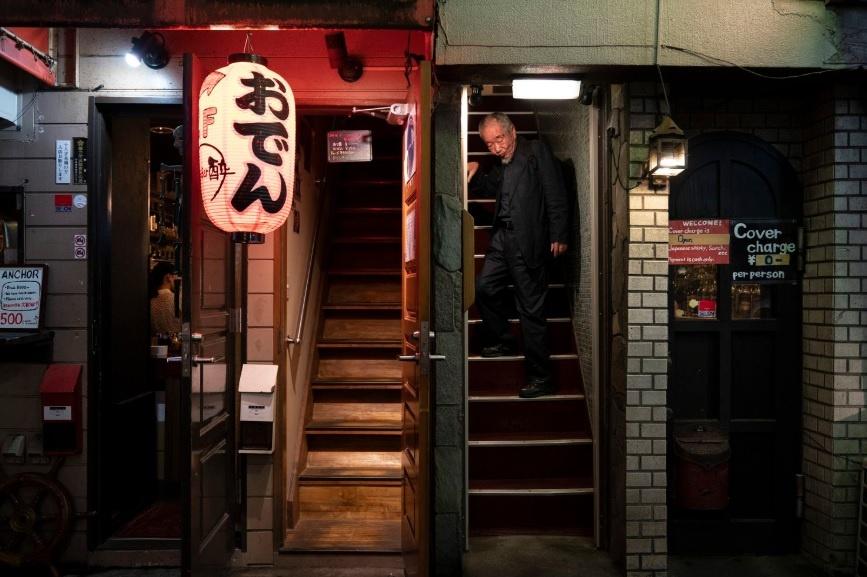 Dem o nhung con hem chat hep cua quan Shinjuku cua Tokyo hinh anh 2