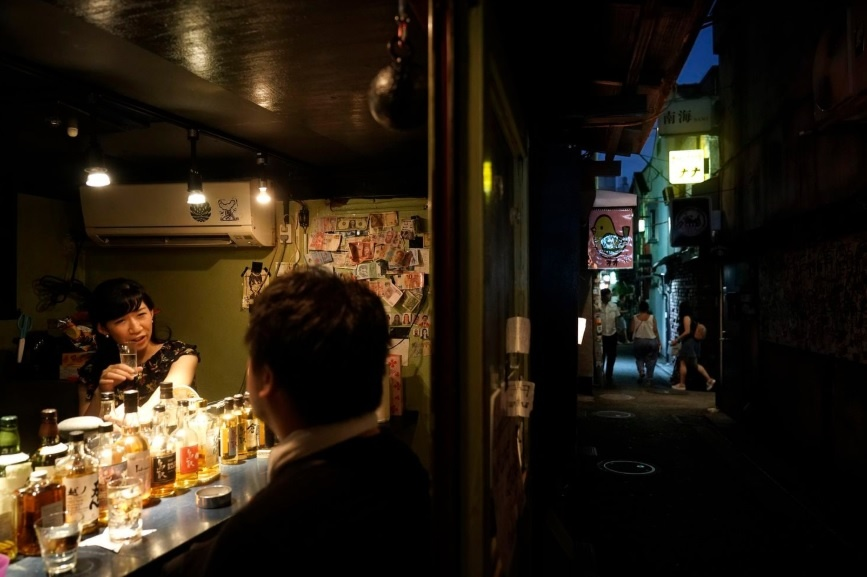 Dem o nhung con hem chat hep cua quan Shinjuku cua Tokyo hinh anh 3