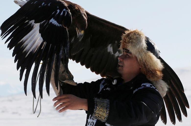 Di san cung dai bang vang tren lung ngua o Kazakhstan hinh anh 1 dai_bang_1.jpg