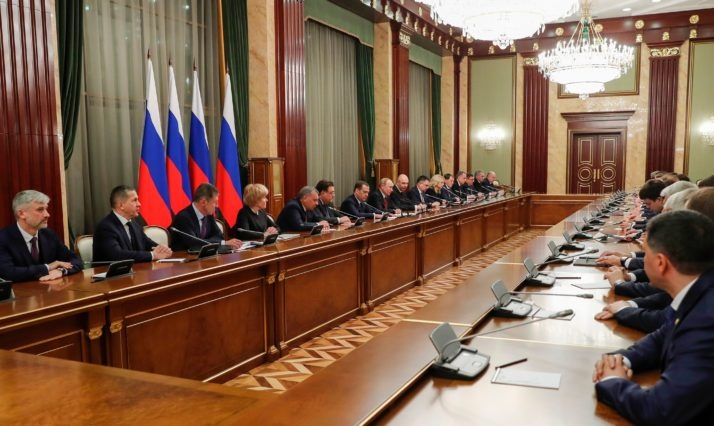 Ke hoach bat ngo cua TT Putin khi thay the toan bo chinh phu hinh anh 4 putin_medvedev_2.jpg