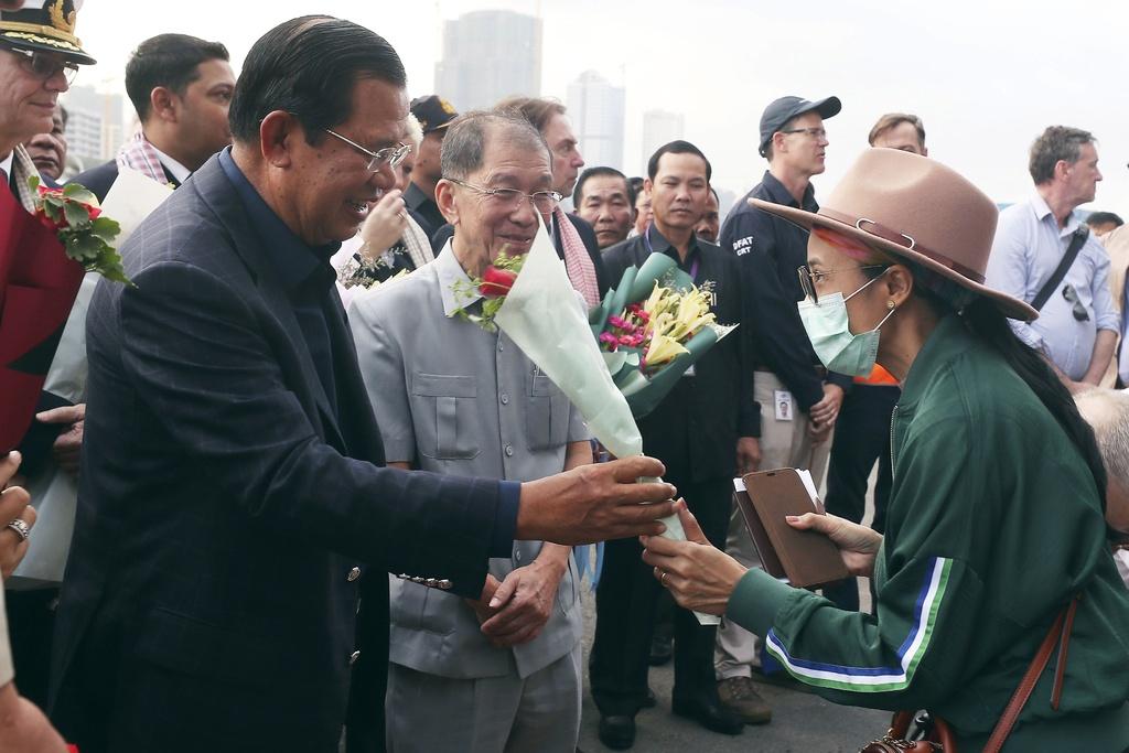 Lo hong nguy hiem vu du thuyen cap ben o Campuchia hinh anh 1 hun_sen.jpg