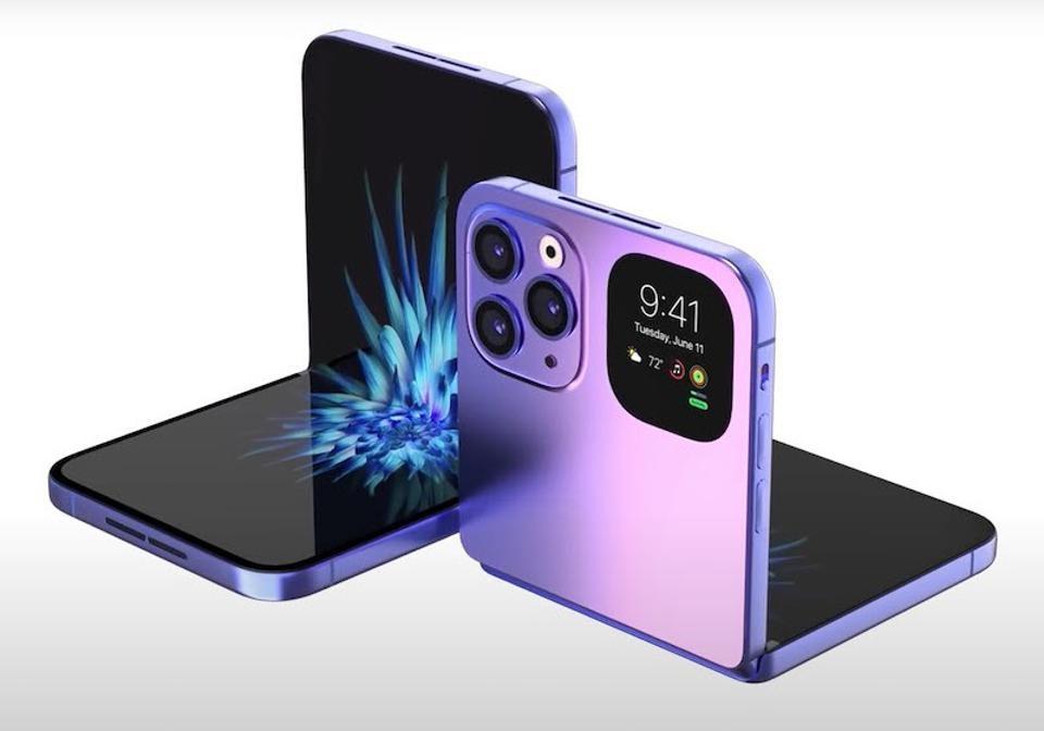 Apple thu nghiem iPhone man hinh gap anh 1