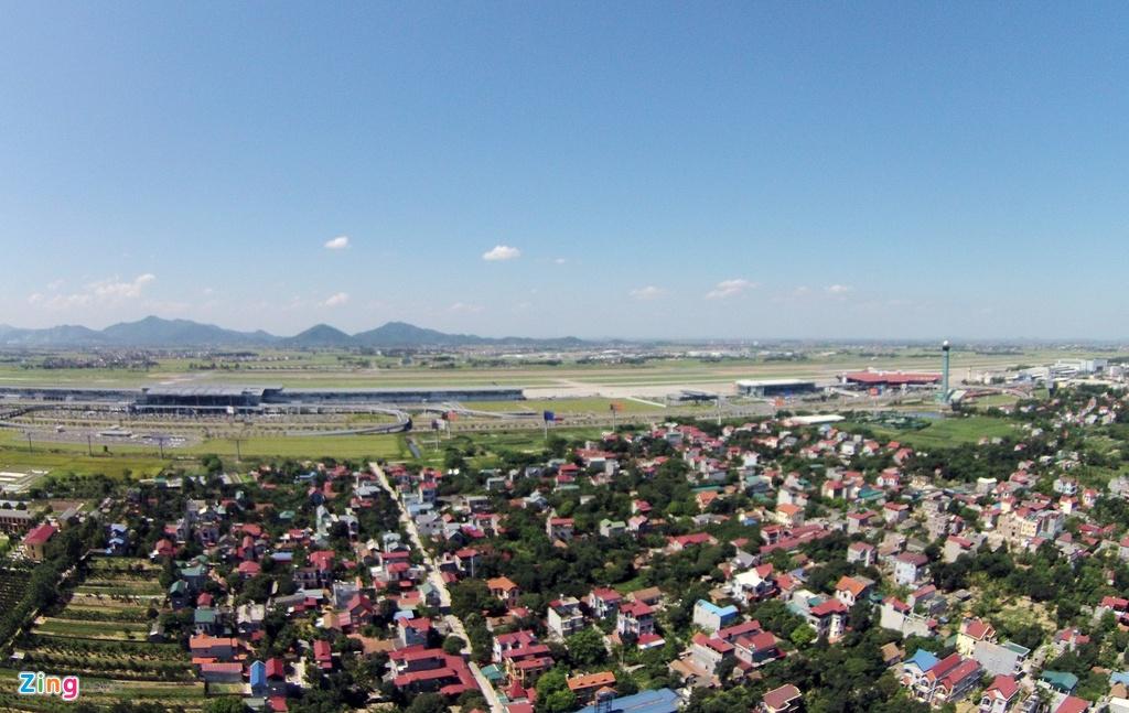 Ngoi lang nam trong quy hoach san bay Noi Bai mo rong hinh anh 3