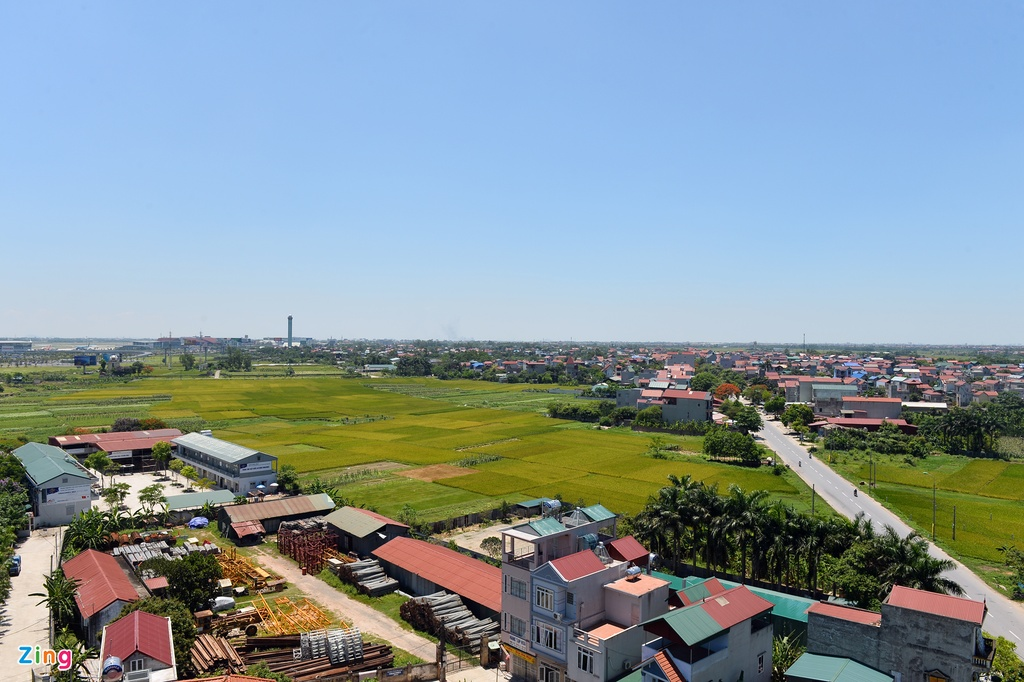 Ngoi lang nam trong quy hoach san bay Noi Bai mo rong hinh anh 6
