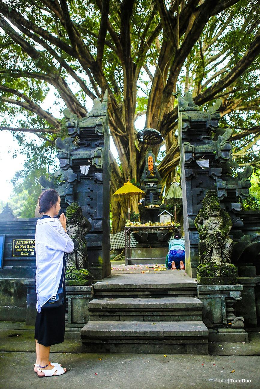 Tam nuoc thanh o den thieng tren dao Bali hinh anh 5