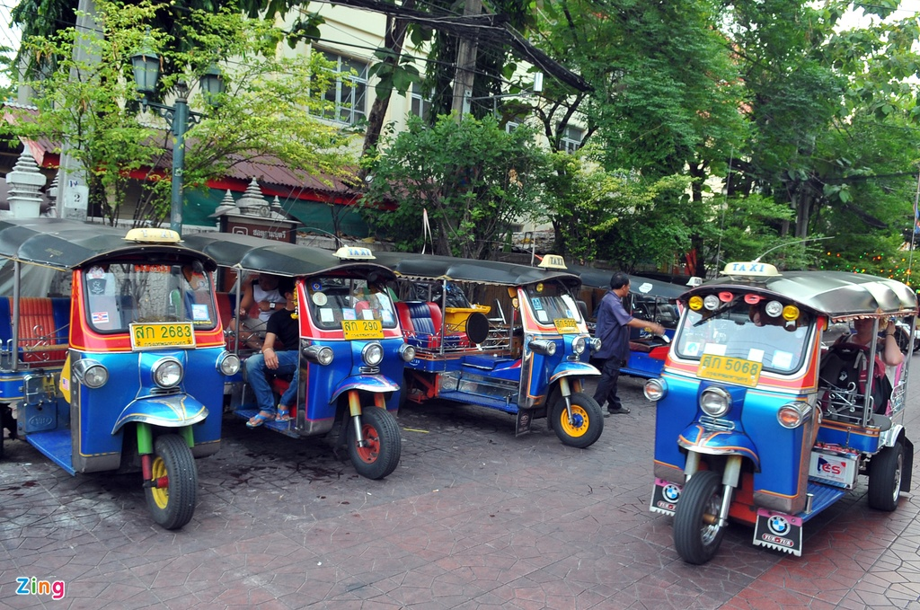 Phuong tien van tai cong cong da dang o Thai Lan hinh anh 13
