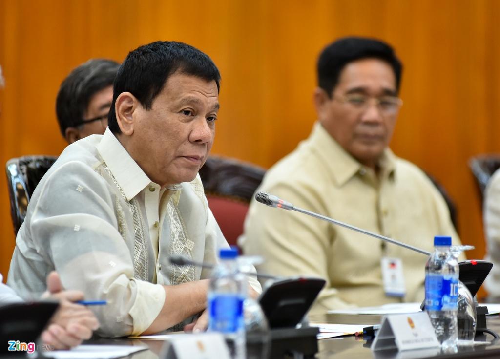 Tong bi thu, Thu tuong gap Tong thong Philippines Duterte hinh anh 4