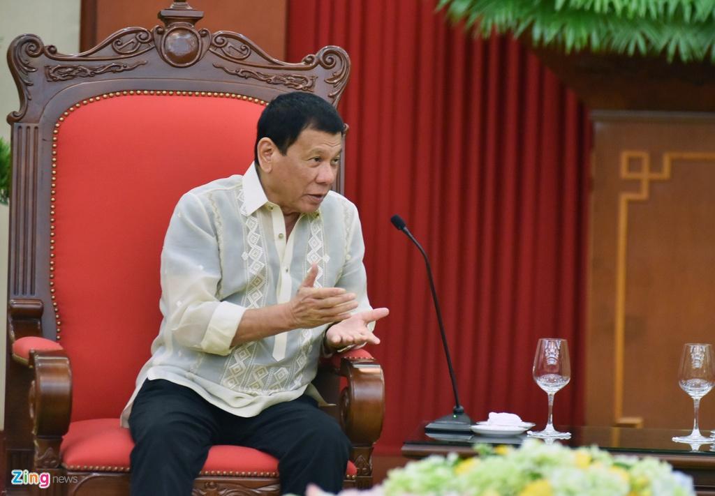 Tong bi thu, Thu tuong gap Tong thong Philippines Duterte hinh anh 7