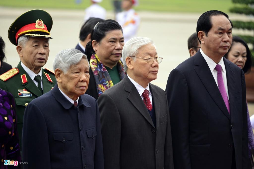 Lanh dao Dang, Nha nuoc vieng Chu tich Ho Chi Minh hinh anh 5
