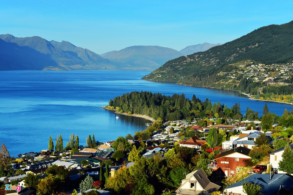Phong canh tuyet dep o Auckland, Queenstown hinh anh 8