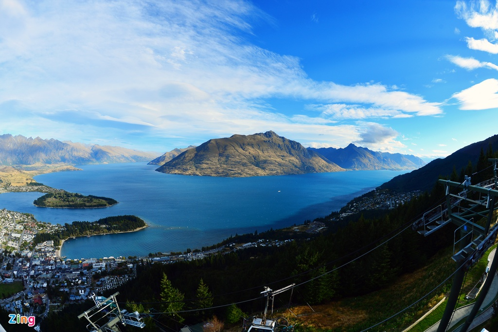 Phong canh tuyet dep o Auckland, Queenstown hinh anh 11