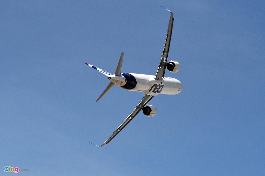 may bay nhao lon o Paris Air Show anh 4