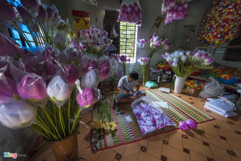 Lang hoa giay 400 tuoi o Hue don Tet hinh anh 2