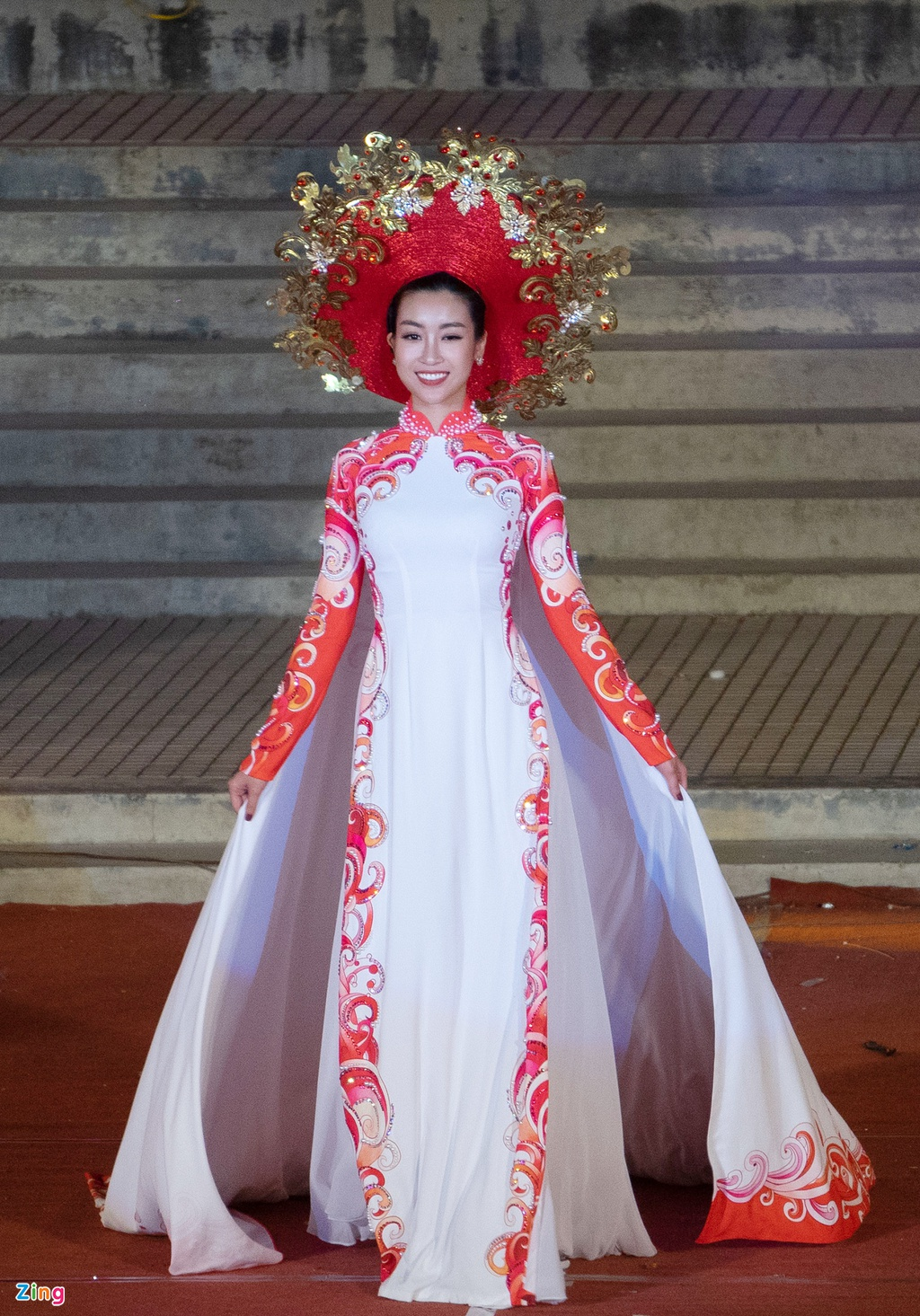 trinh dien ao dai tai Festival Hue anh 2