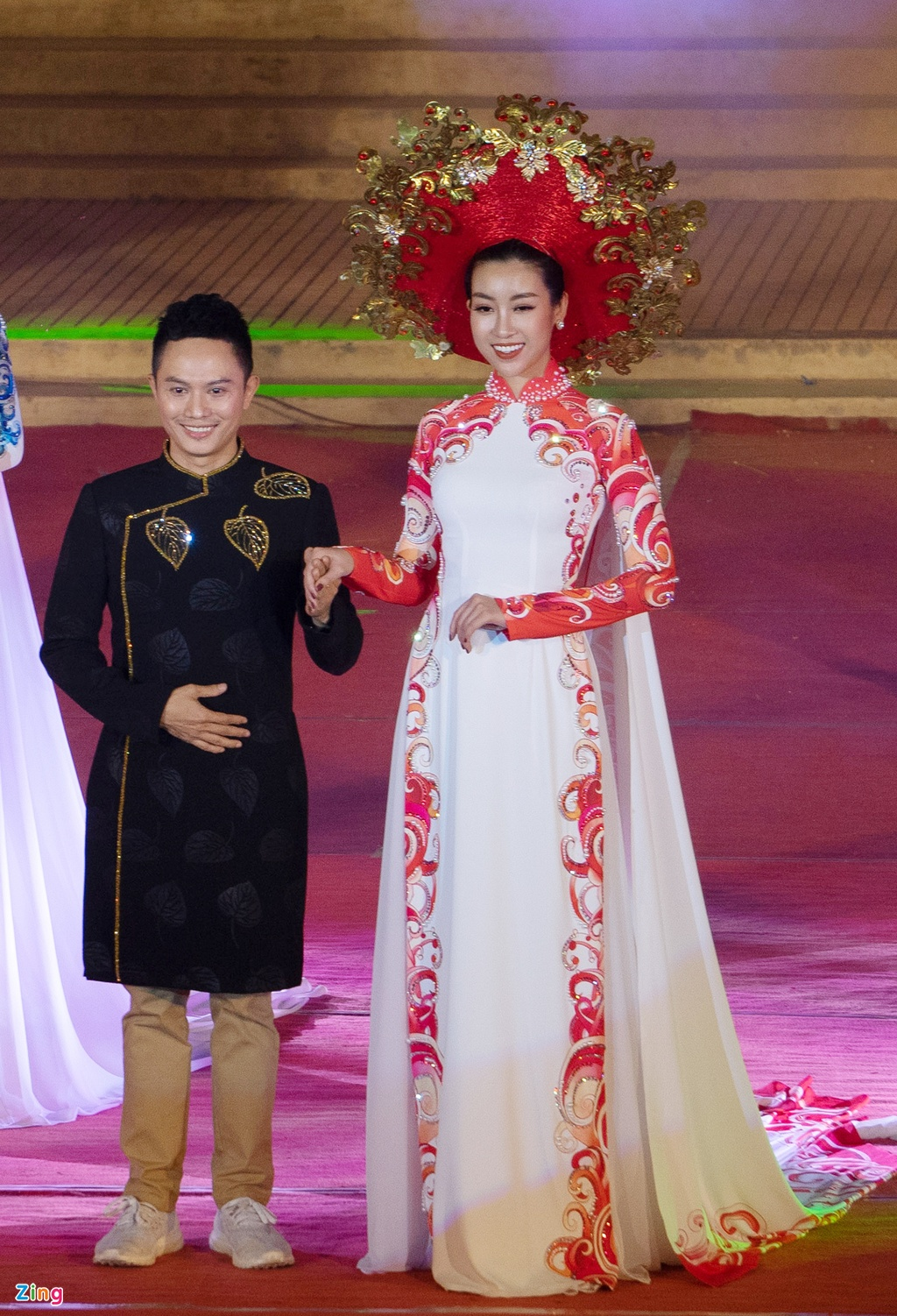 trinh dien ao dai tai Festival Hue anh 3