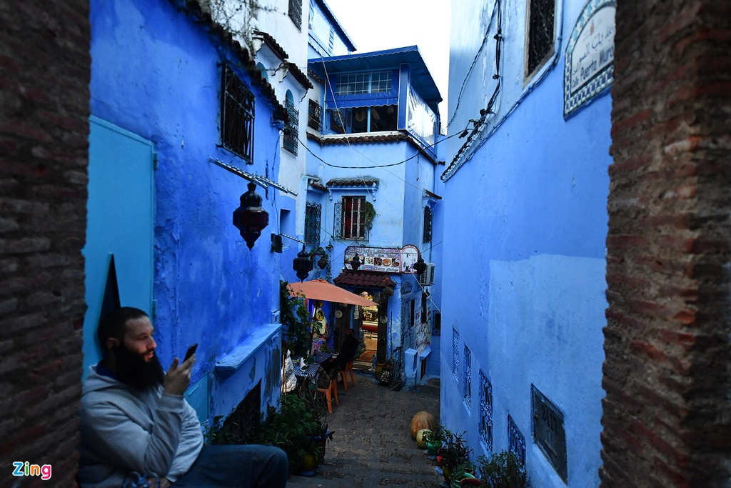 Thanh pho mau xanh, bao vat cua Morocco hinh anh 10