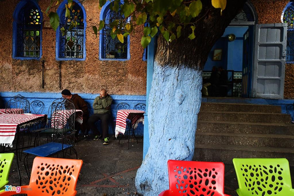 Thanh pho mau xanh, bao vat cua Morocco hinh anh 11