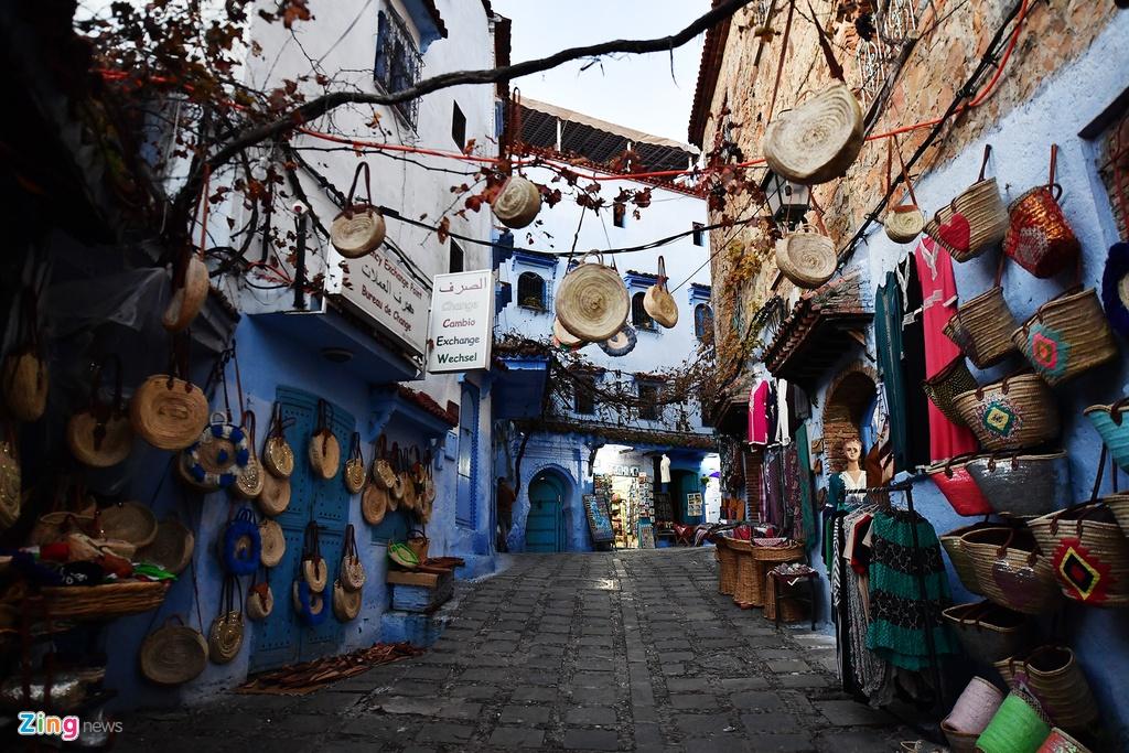 Thanh pho mau xanh, bao vat cua Morocco hinh anh 12