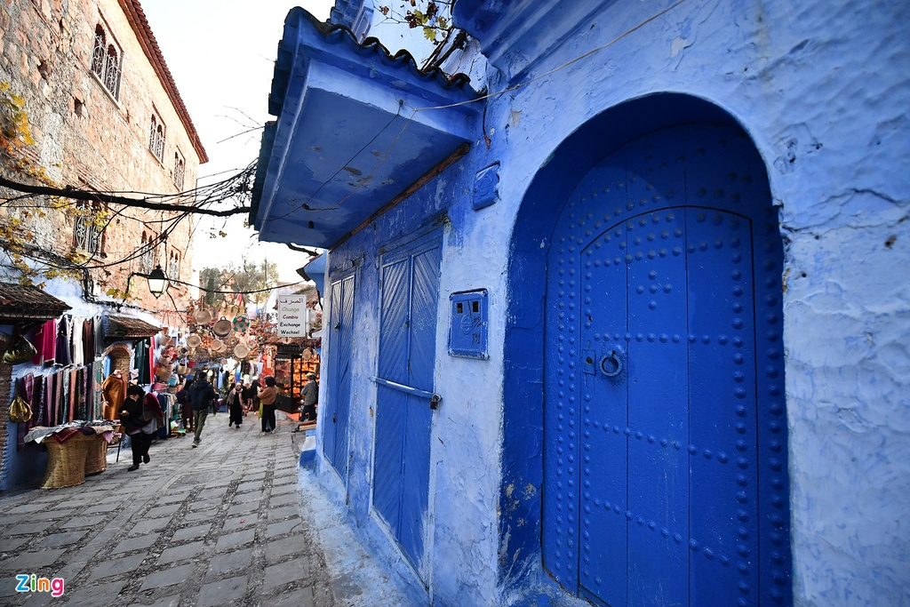 Thanh pho mau xanh, bao vat cua Morocco hinh anh 7