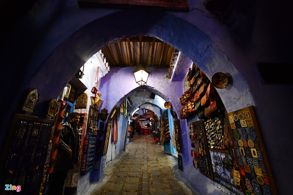 Thanh pho mau xanh, bao vat cua Morocco hinh anh 13