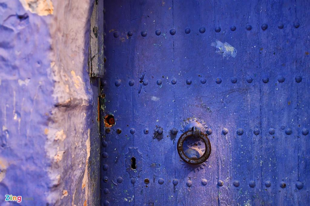 Thanh pho mau xanh, bao vat cua Morocco hinh anh 6