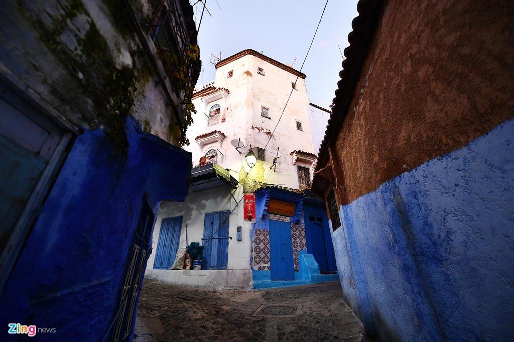 Thanh pho mau xanh, bao vat cua Morocco hinh anh 4