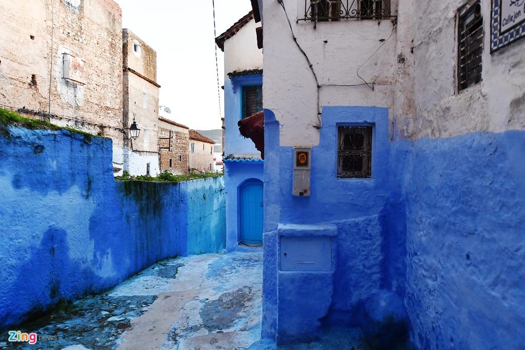 Thanh pho mau xanh, bao vat cua Morocco hinh anh 9