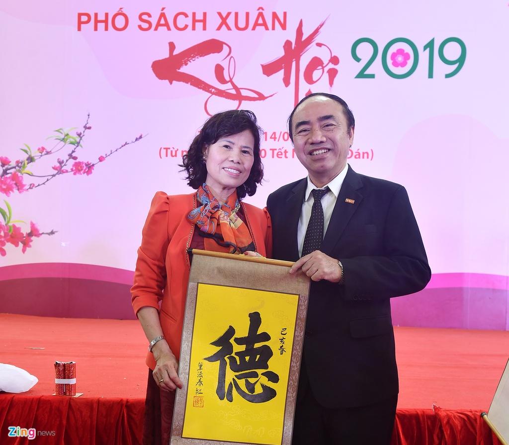 Nguoi dan no nuc tham du khai mac Pho Sach Xuan Ky Hoi hinh anh 14