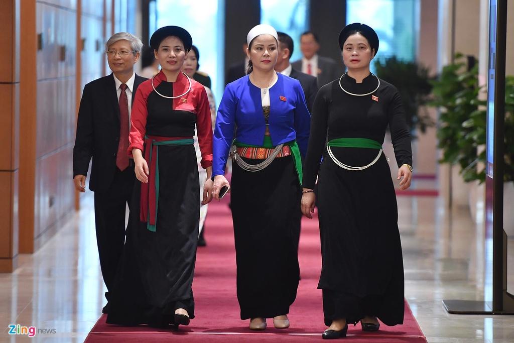 dai bieu Quoc hoi vieng lang Chu tich Ho Chi Minh anh 11