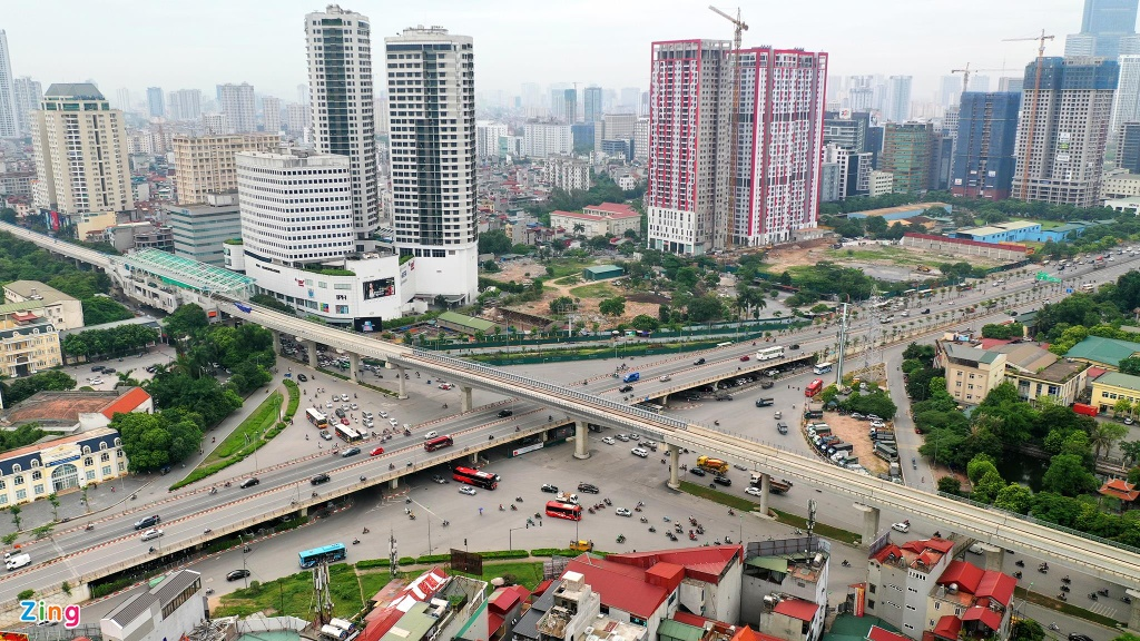 duong sat metro Nhon ga Ha Noi anh 1