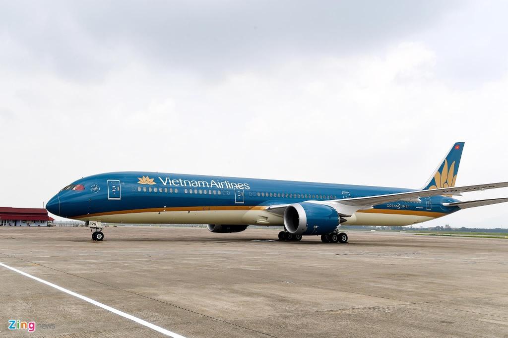 'Siêu máy bay' Boeing 787-10 dài 68 m vừa nhập về Việt Nam