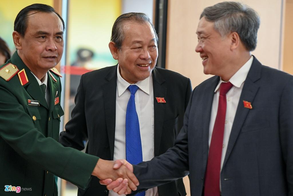 Dai bieu vieng Chu tich Ho Chi Minh ngay khai mac ky hop Quoc hoi hinh anh 6