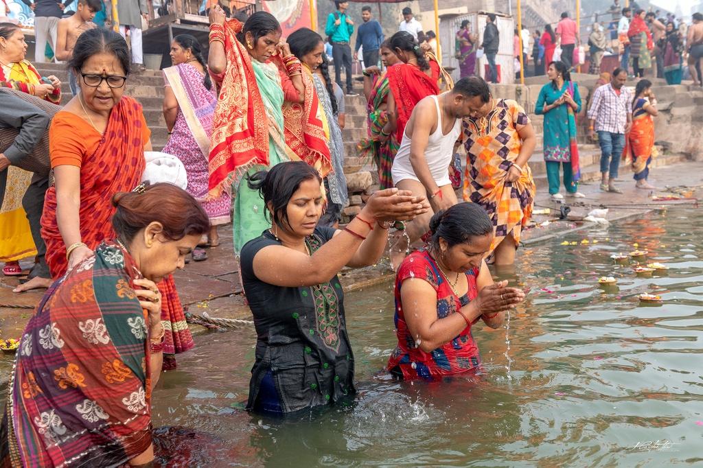 Cuoc song nguoi dan Varanasi o An Do anh 5