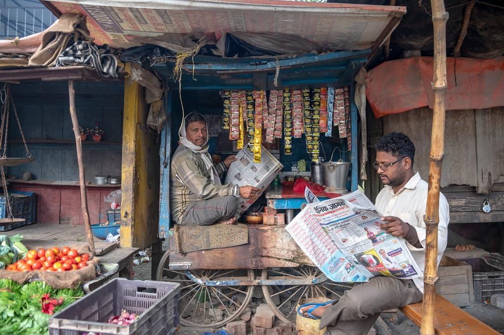 Cuoc song nguoi dan Varanasi o An Do anh 11