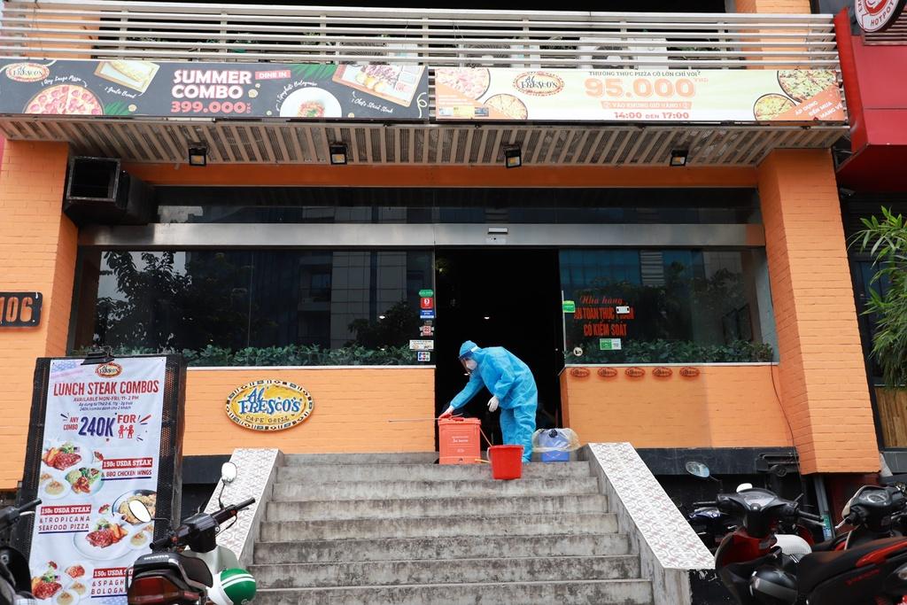 khu trung quan pizza Tran Thai Tong anh 2