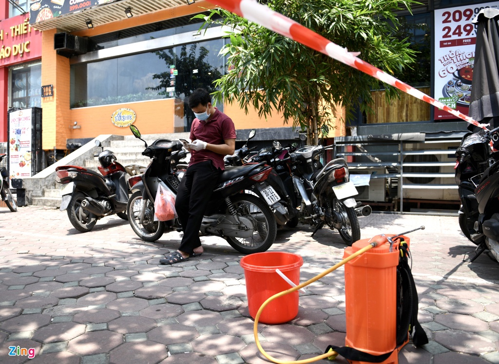 khu trung quan pizza Tran Thai Tong anh 3