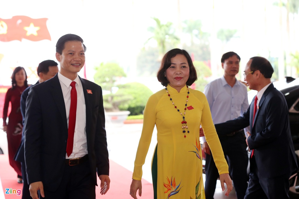 lanh dao ve du dai hoi dang bo Bac Ninh anh 4